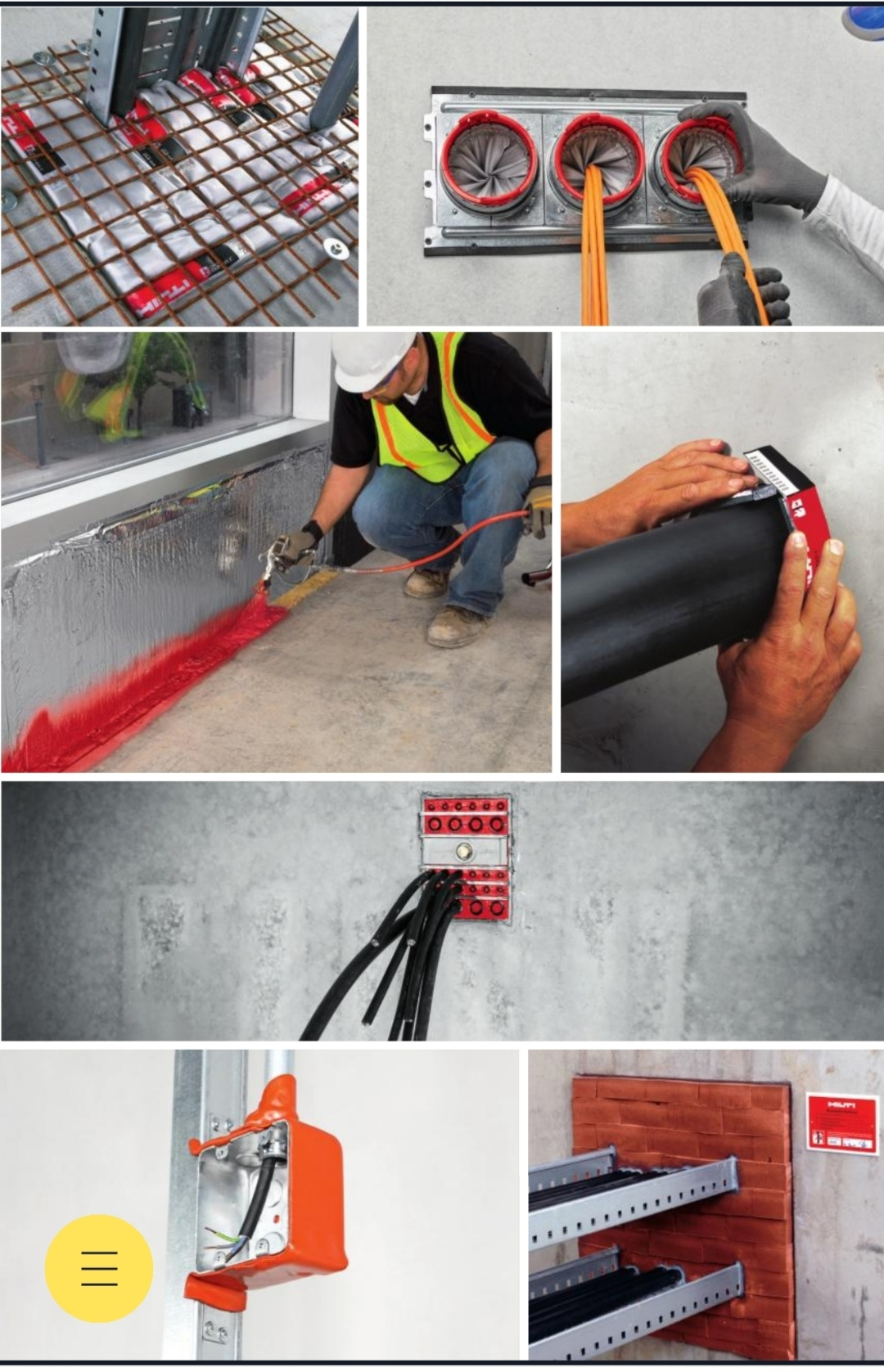 Hilti Passive Fire Protection System